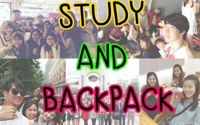 Vlog STUDY + BACKPACK Shanghai Korea Japan